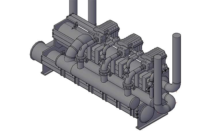 Turbocor chiller Retrofit-260-E-t