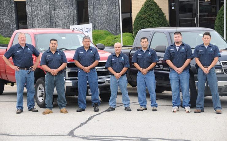 bullock crew cooling tower maintenance professionals